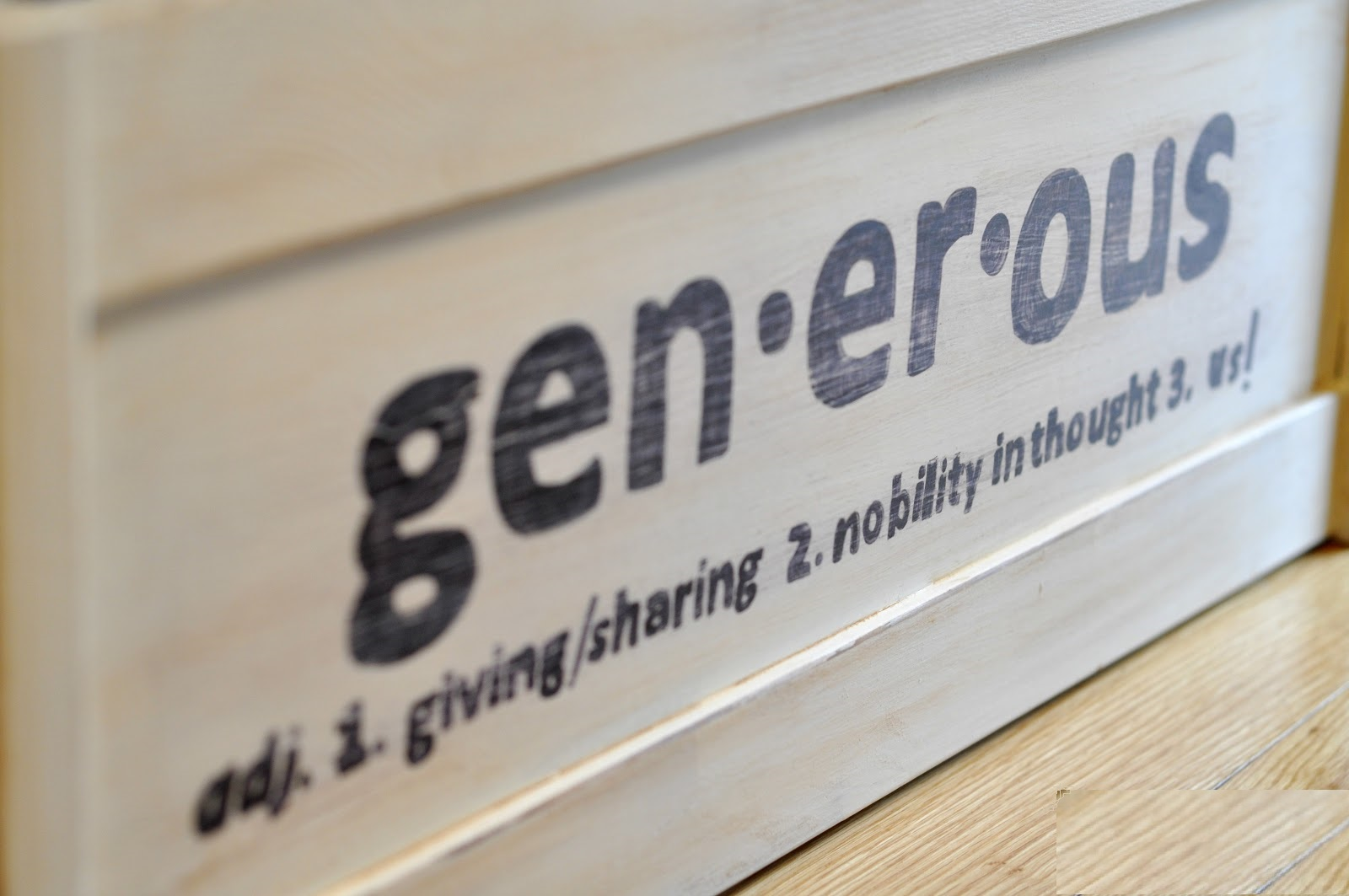 What is Generosity? - Grace Goals and Guts