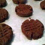 Choc PB Cookies
